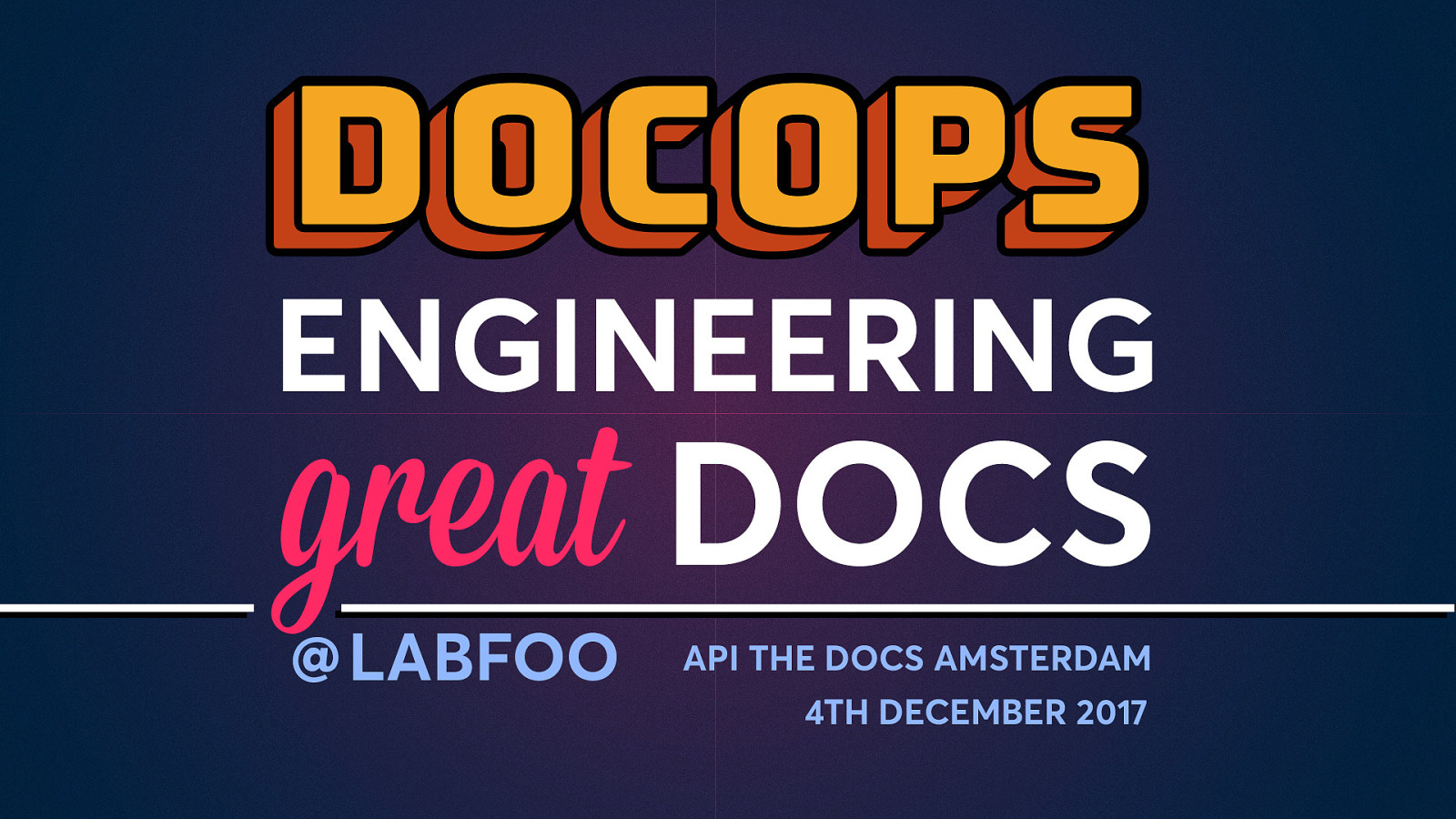DocOps: Engineering great documentation
