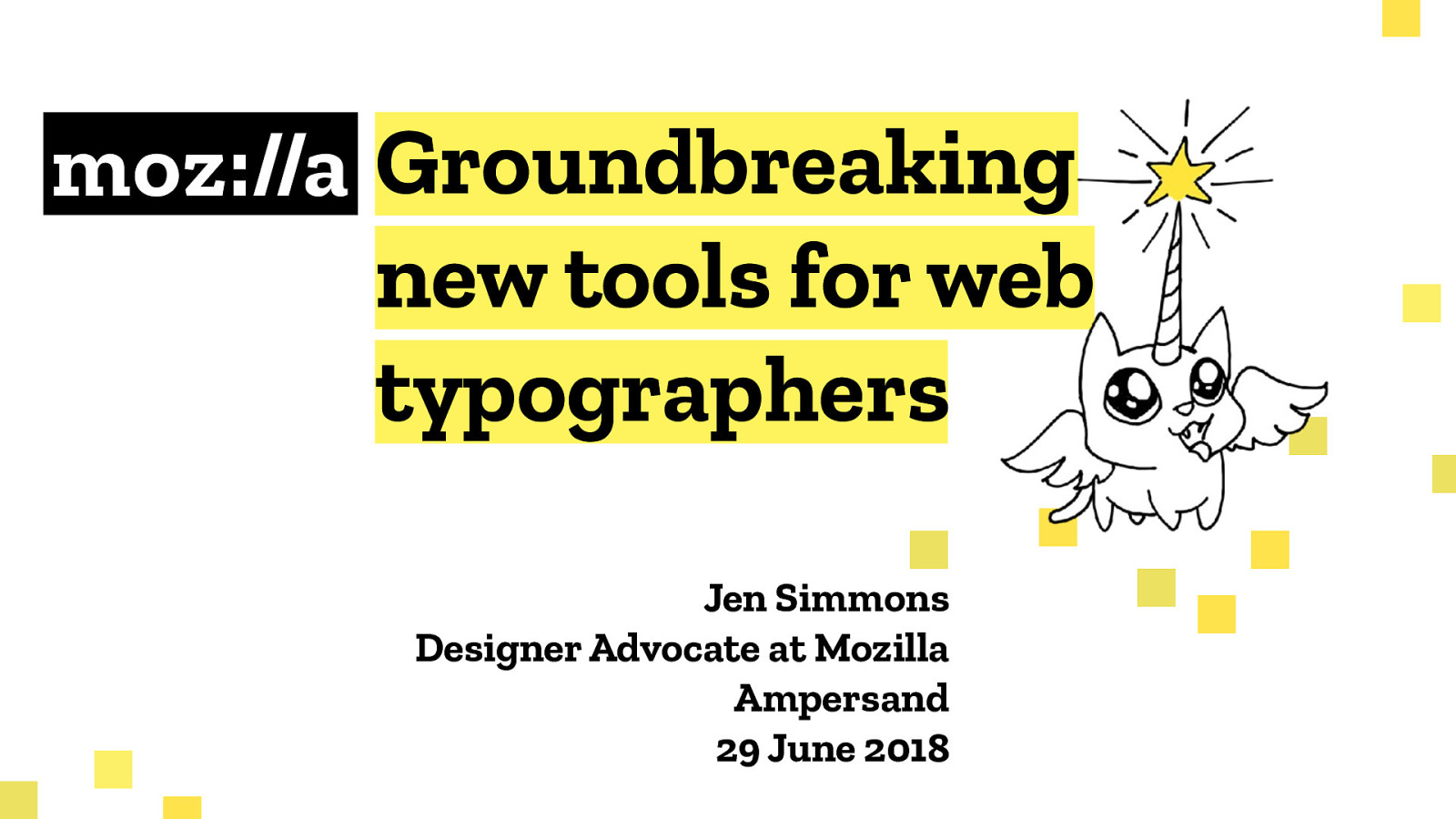 Groundbreaking new tools for web typographers