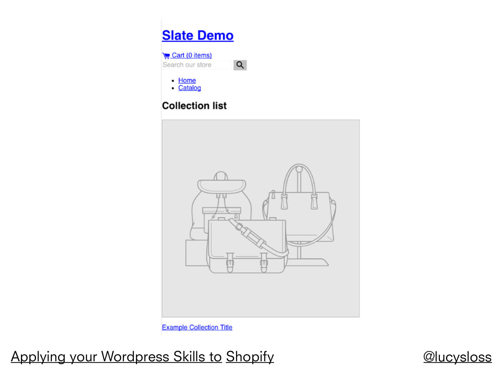Applying your Wordpress skills to Shopify