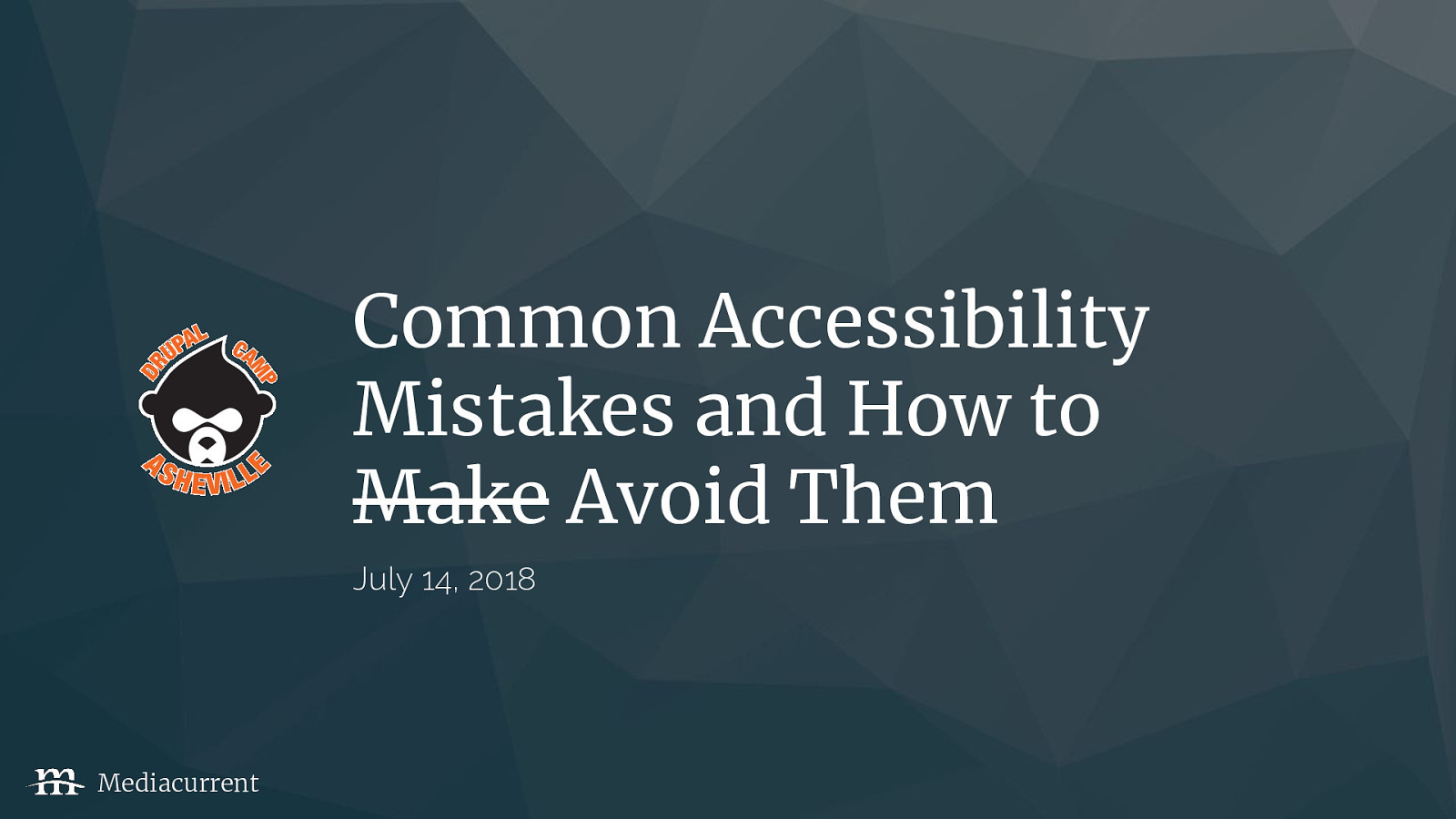 Common accessibility mistakes and how to avoid them