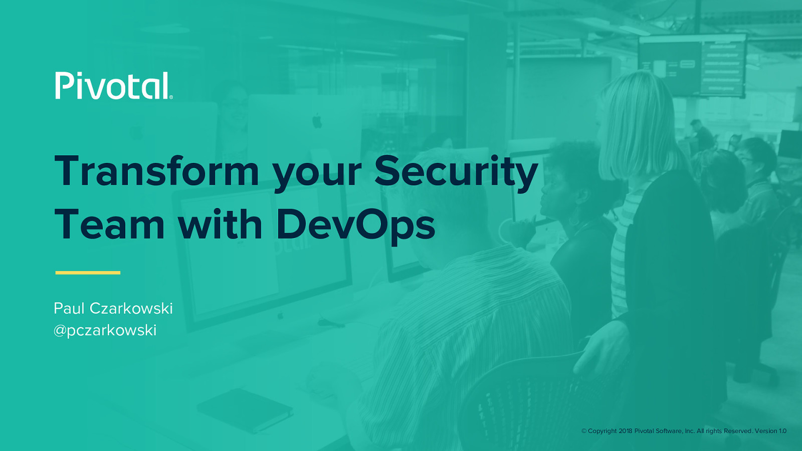 Transform your Security Practices with DevOps