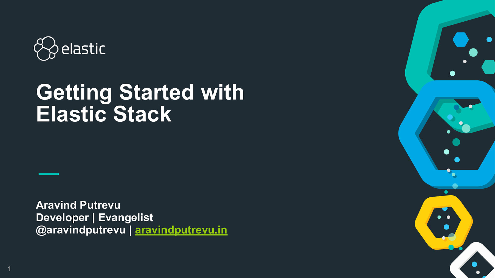 Getting started with Elastic Stack