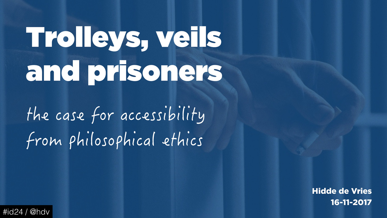 Trolleys, veils and prisoners: the case for accessibility from philosophical ethics