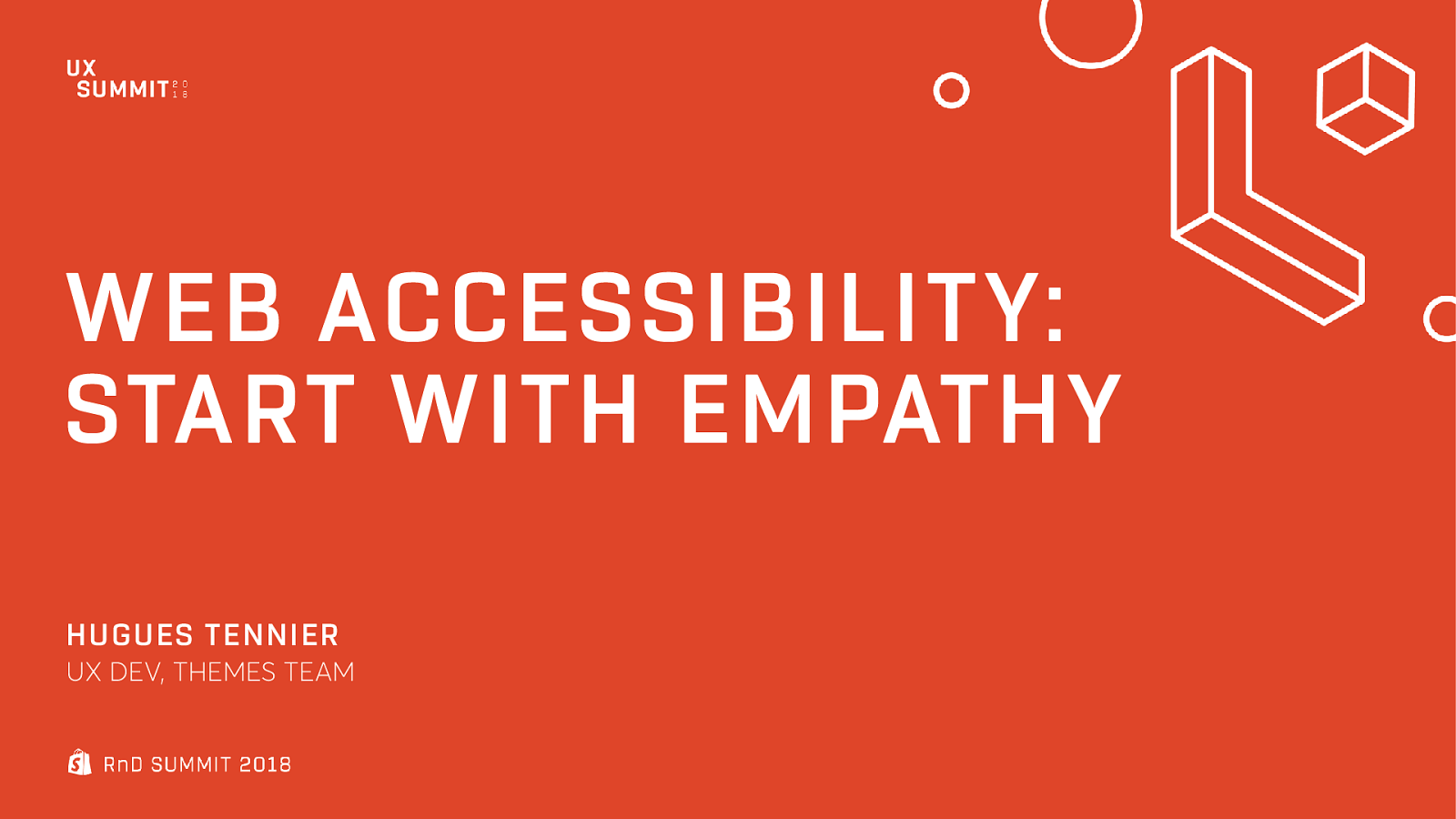Web accessibility : Start with empathy