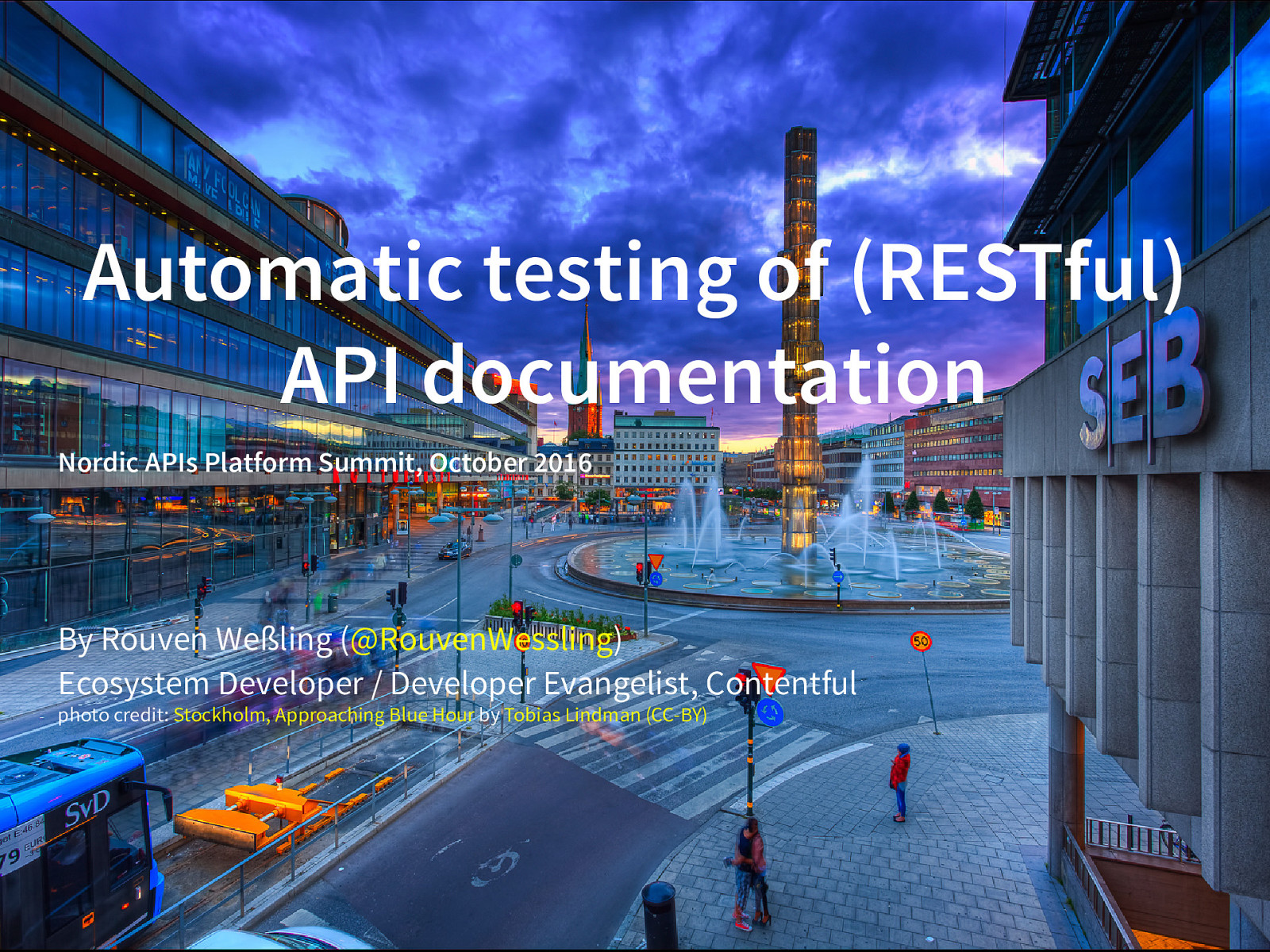 Automatic Testing of API Documentation