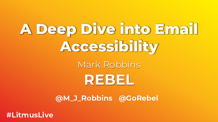 A Deep Dive into Email Accessibility