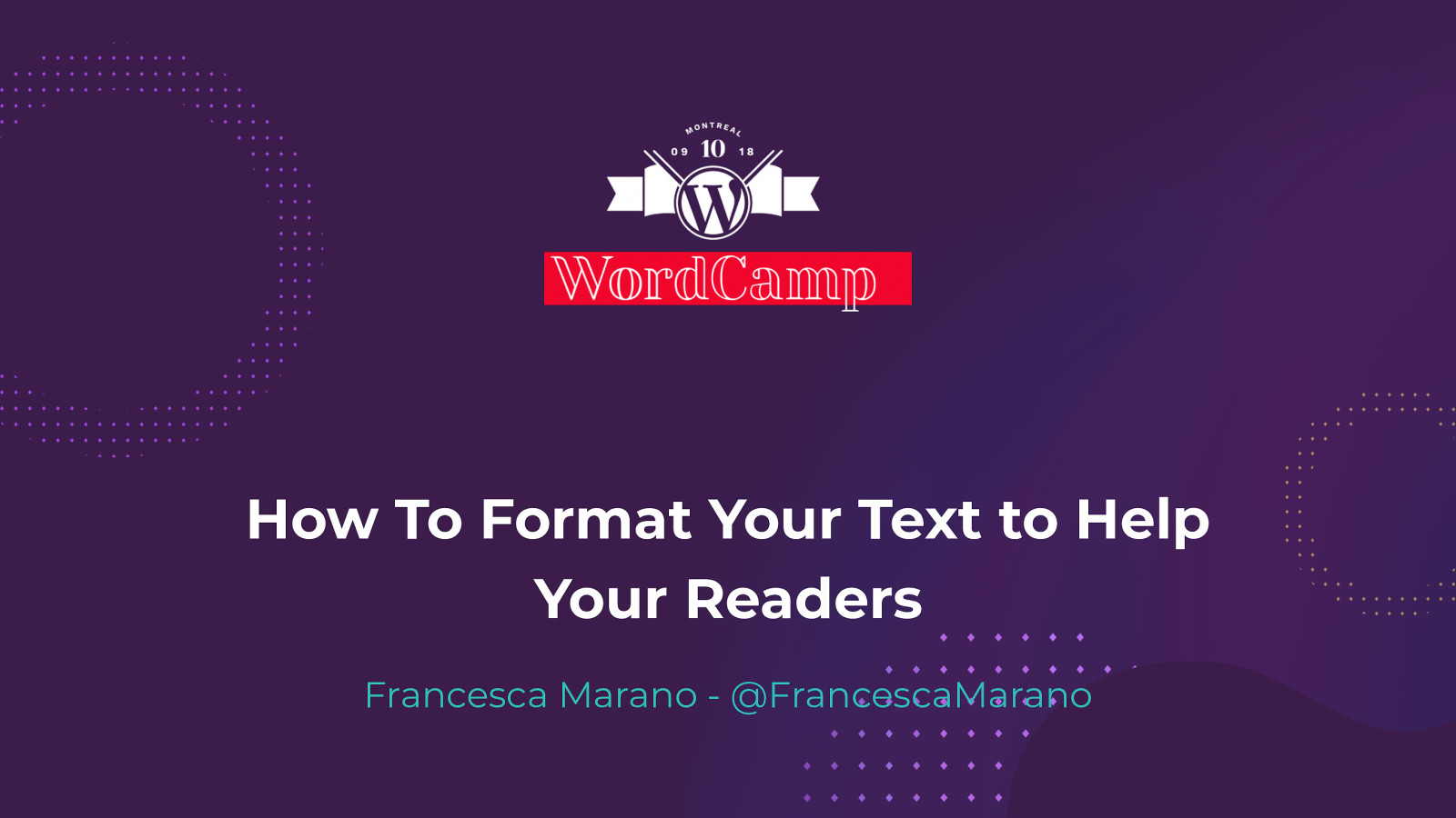 How to Format Your Text to Help Your Readers