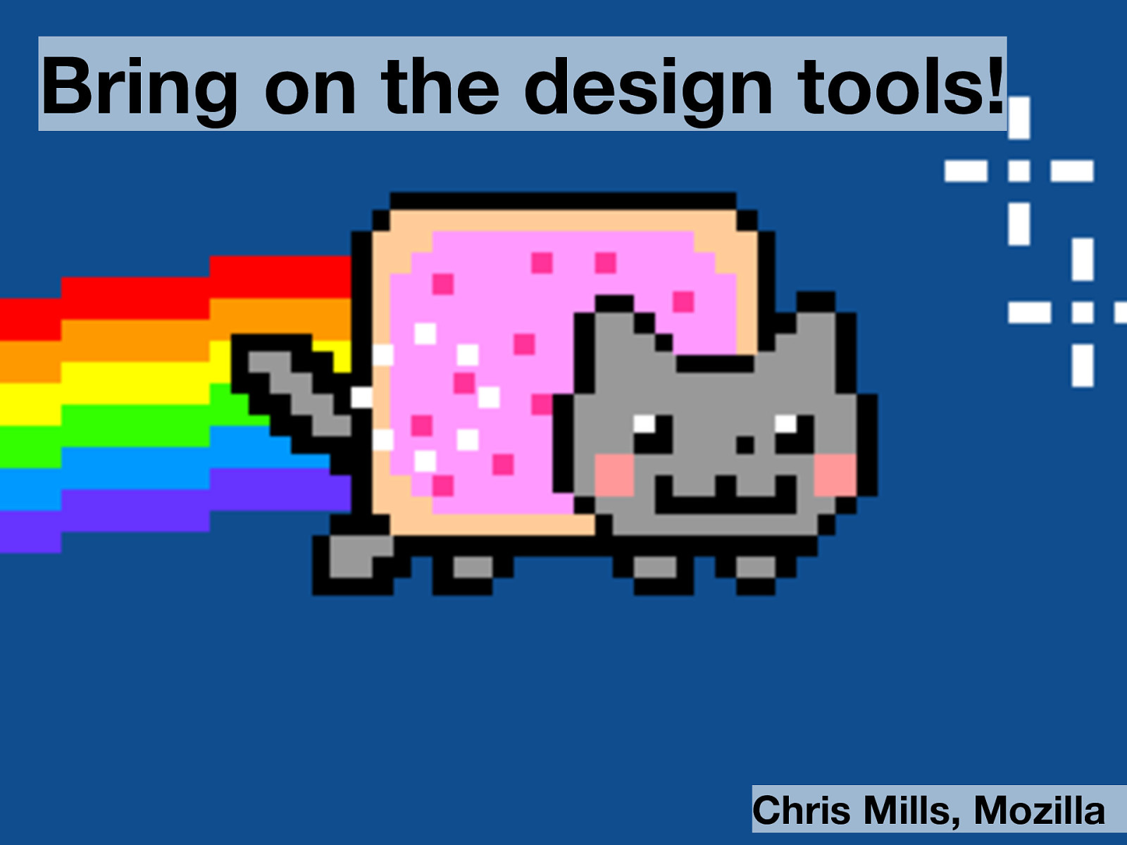Bring on the design tools