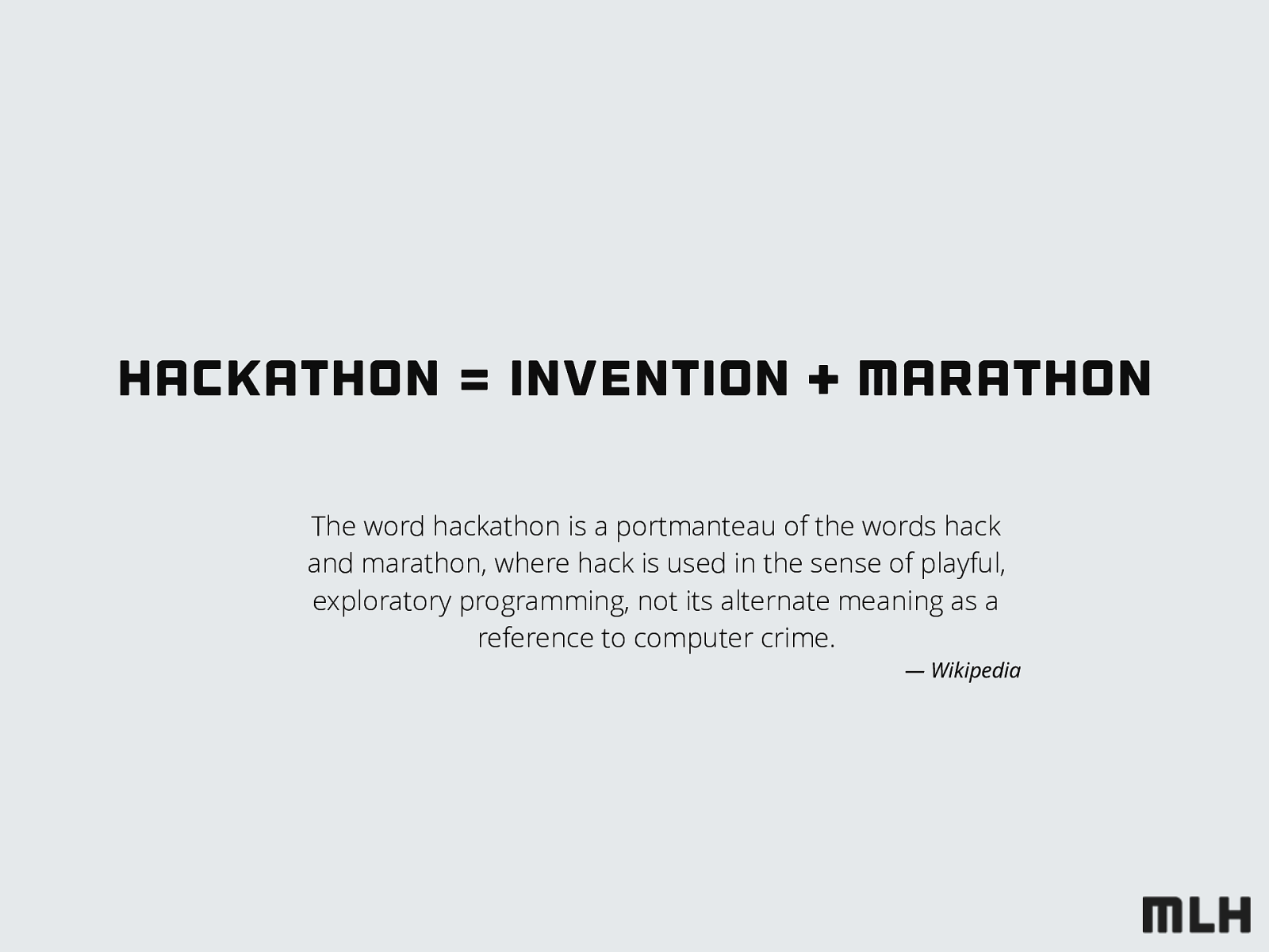 How to throw a hackathon