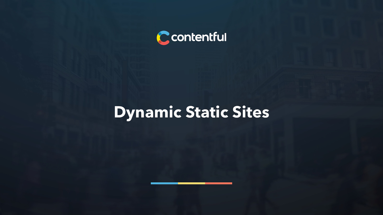 Dynamic Static Sites