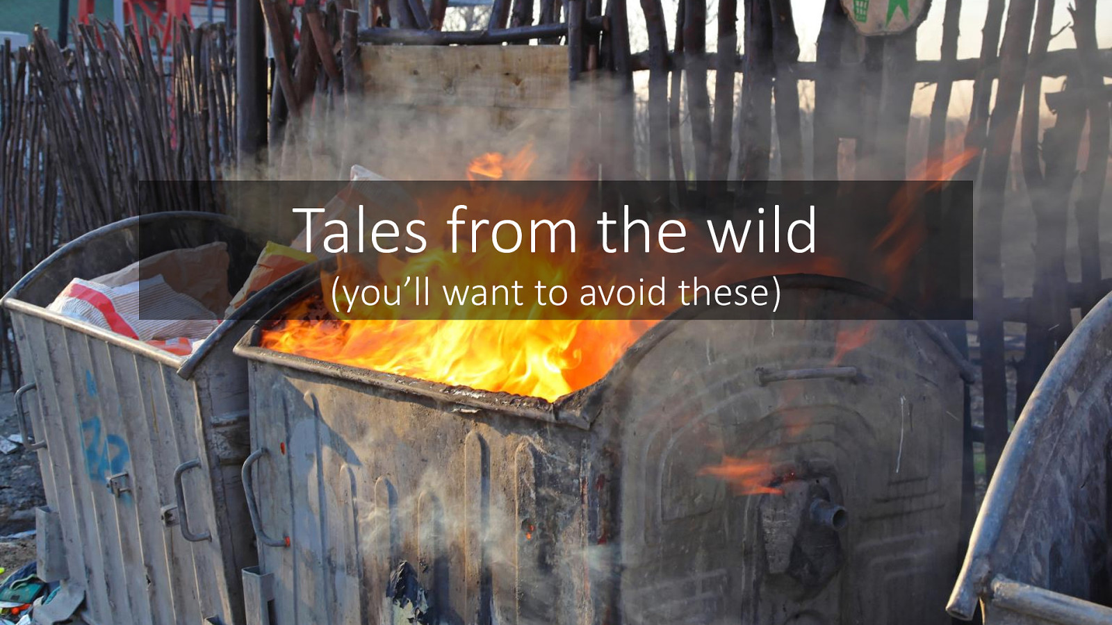 26 Feature Branches and other tales from the wild