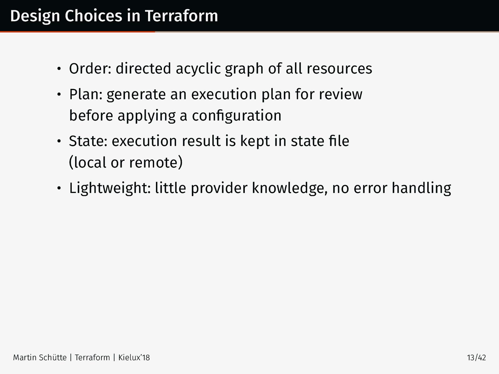 Terraform – Infrastructure as Code