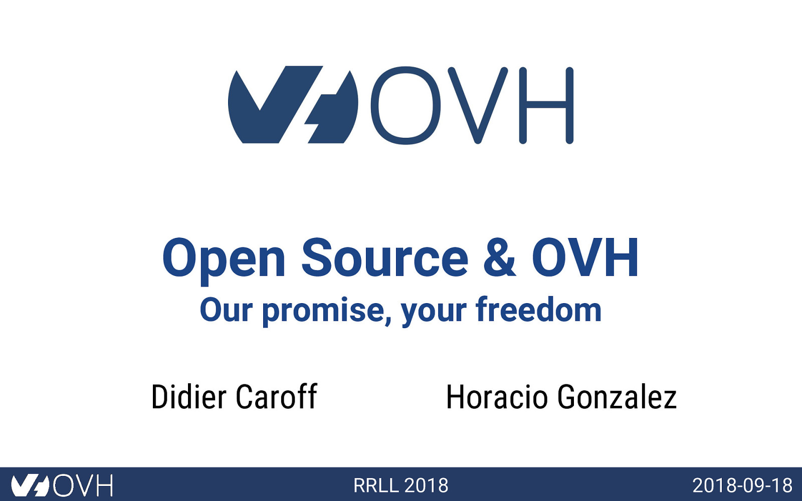 Open Source & OVH
