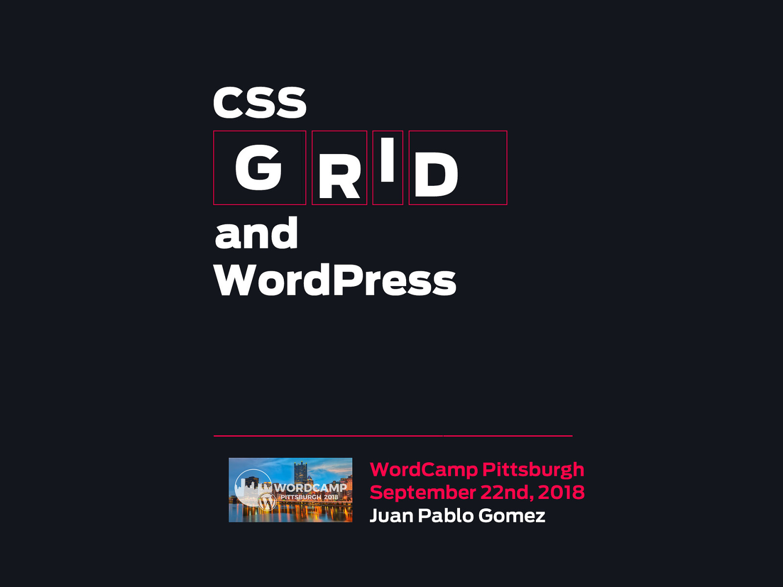 CSS GRID AND WORDPRESS