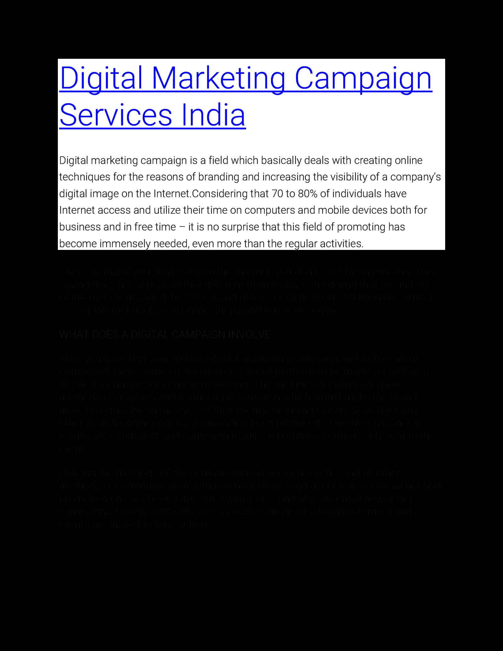 Sanbrains Digital Marketing Services in Hyderabad