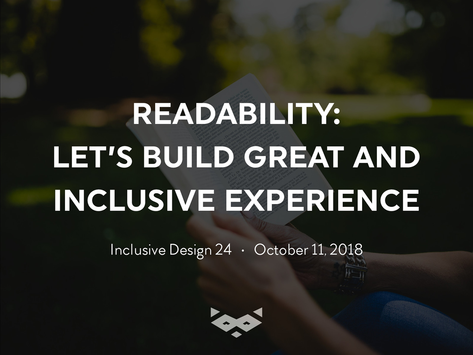 Readability & Web: Let's build great inclusive projects