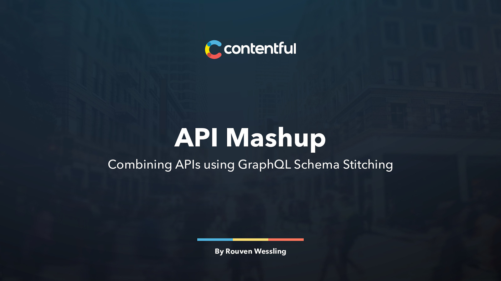 API Mashup: Combining APIs using GraphQL Schema Stitching