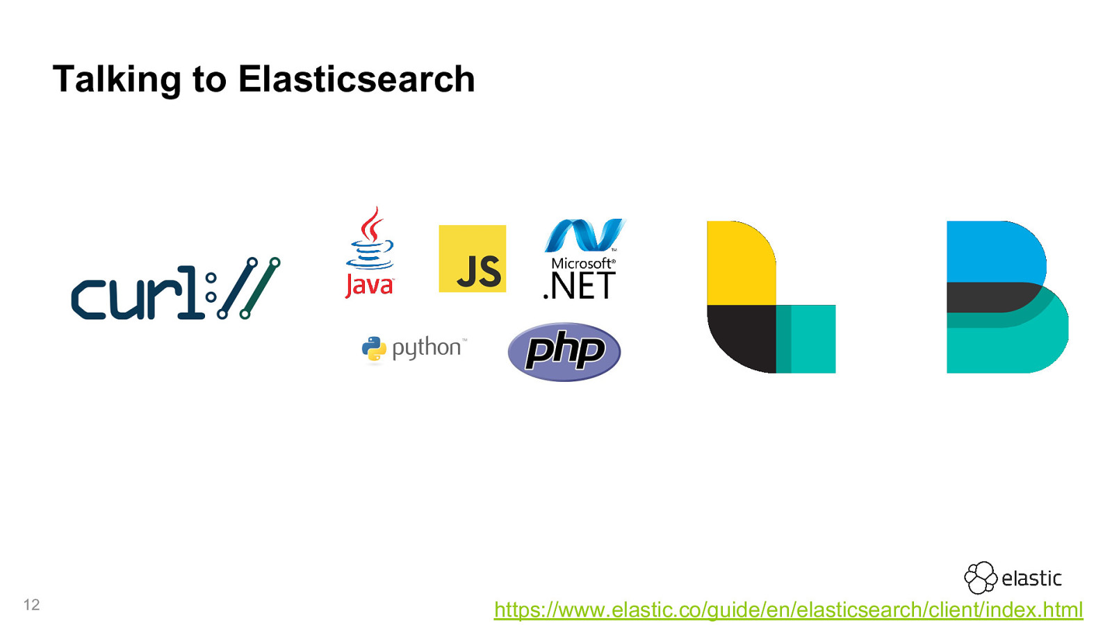 Elasticsearch - You know, for Search