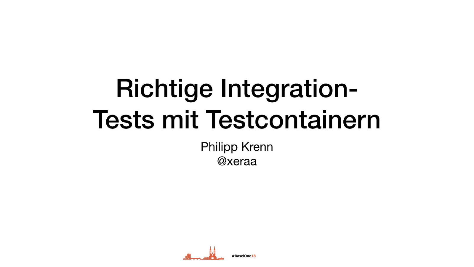 Richtige Integration-Tests mit Testcontainern