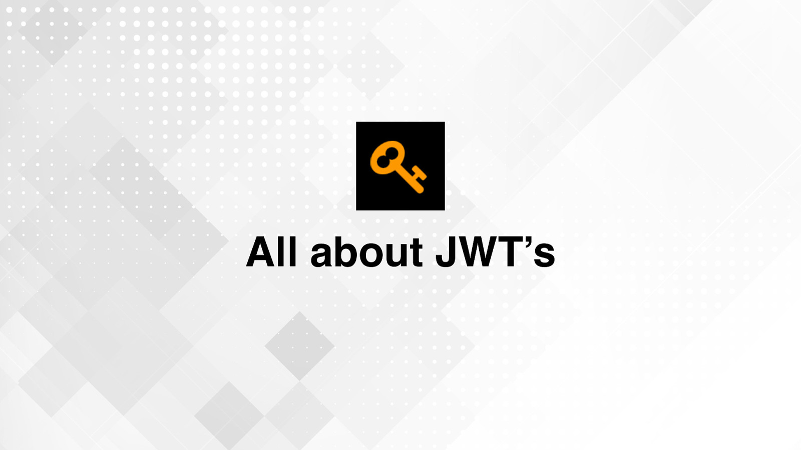 All About JWT's