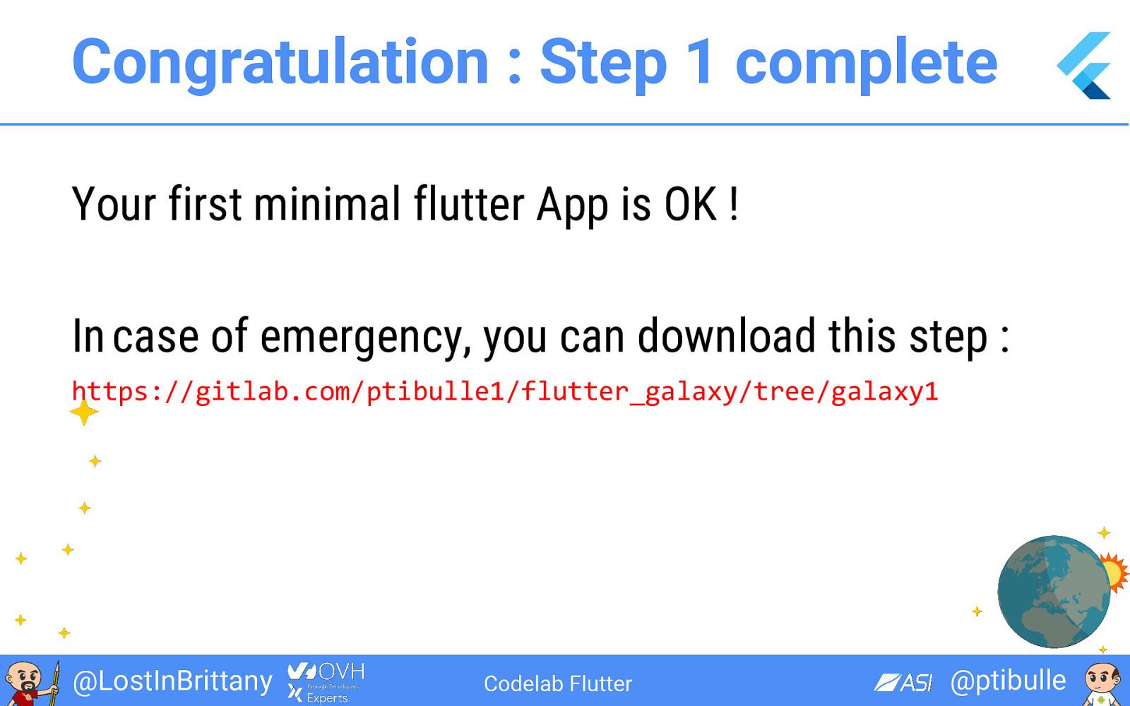 Venez coder votre 1ère application Flutter !