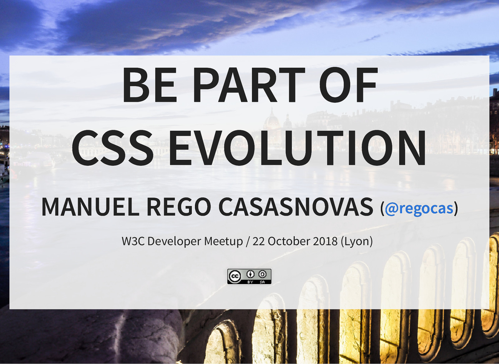 Be part of CSS evolution