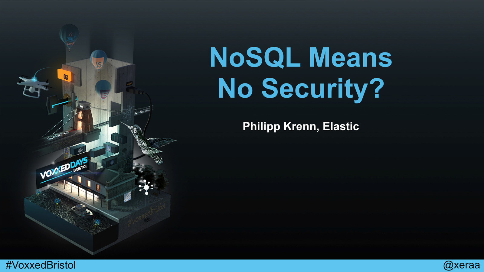 NoSQL Means No Security?
