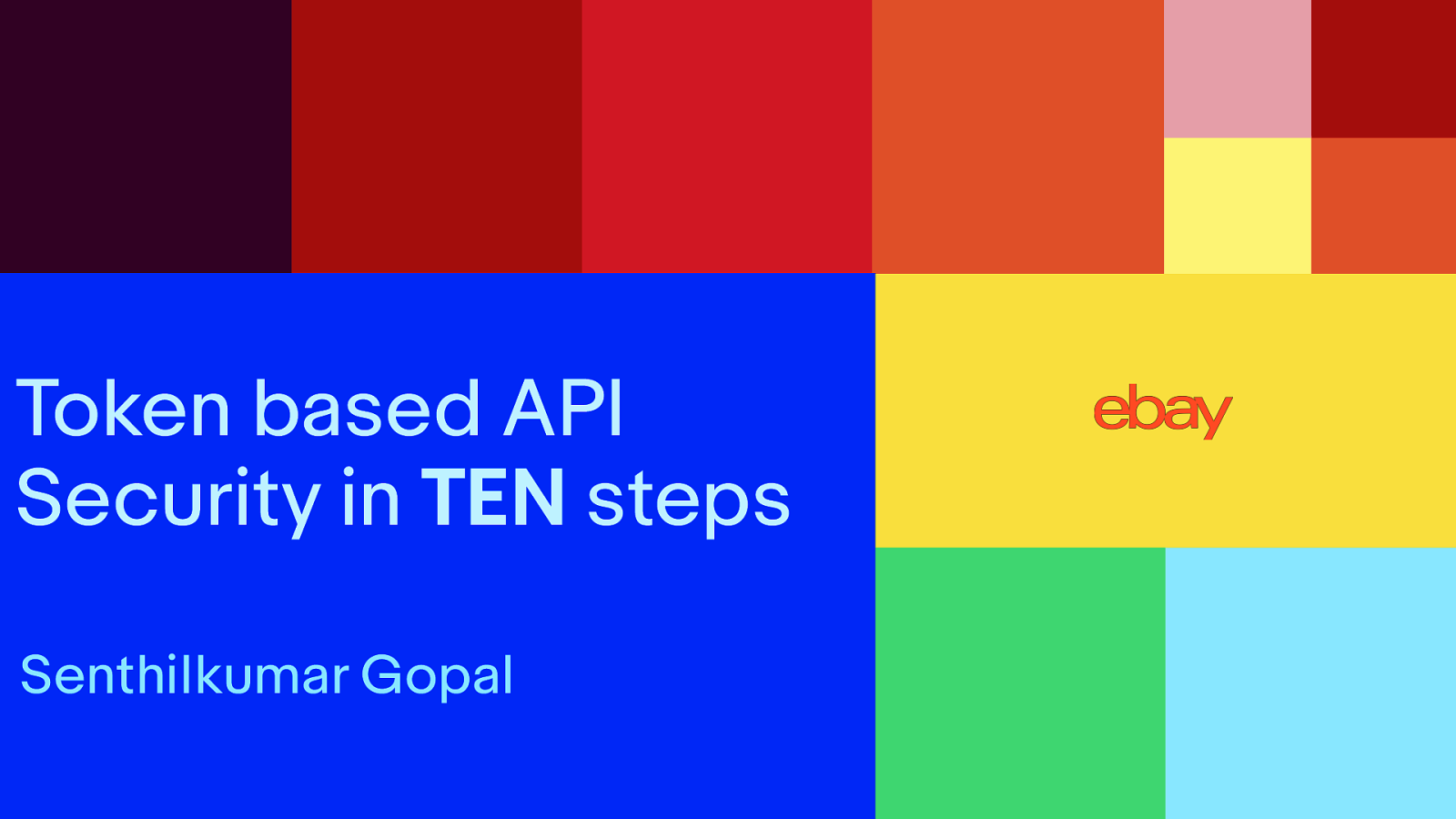 Token based API Security in TEN Steps