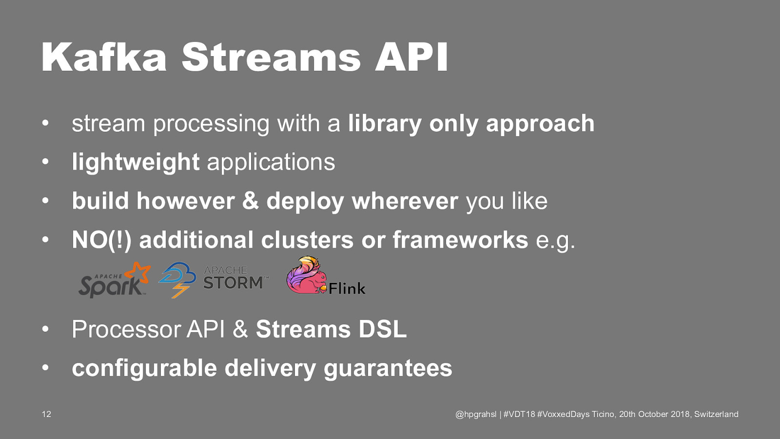 Stateful & Reactive Stream Processing Applications Without a