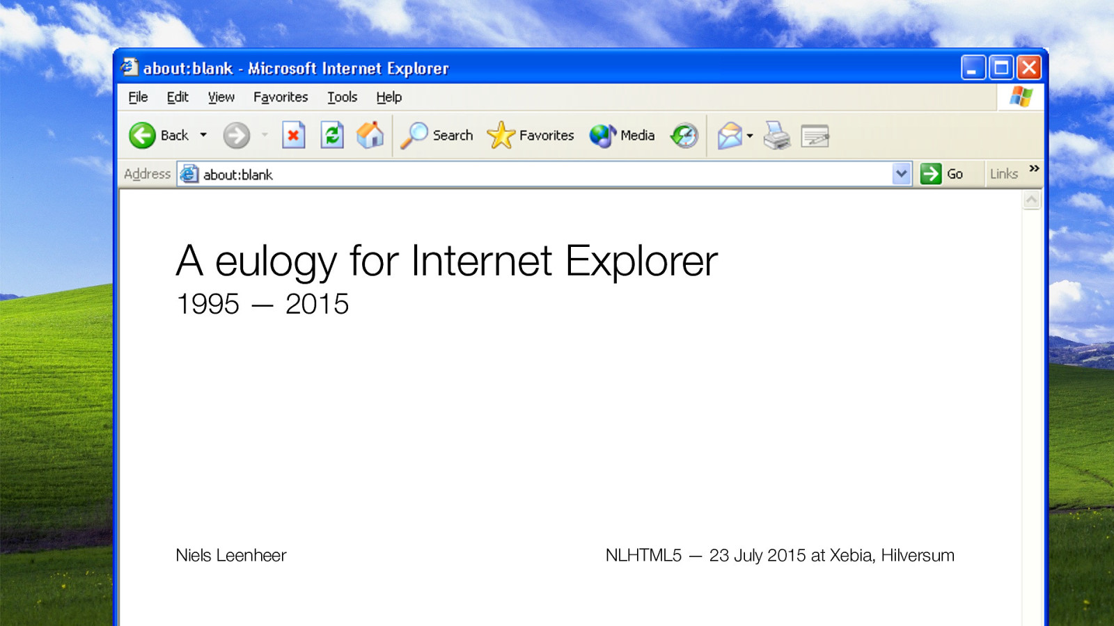 A eulogy for Internet Explorer