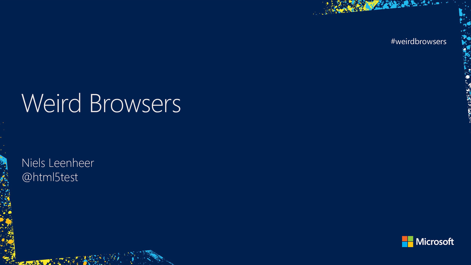 Weird Browsers