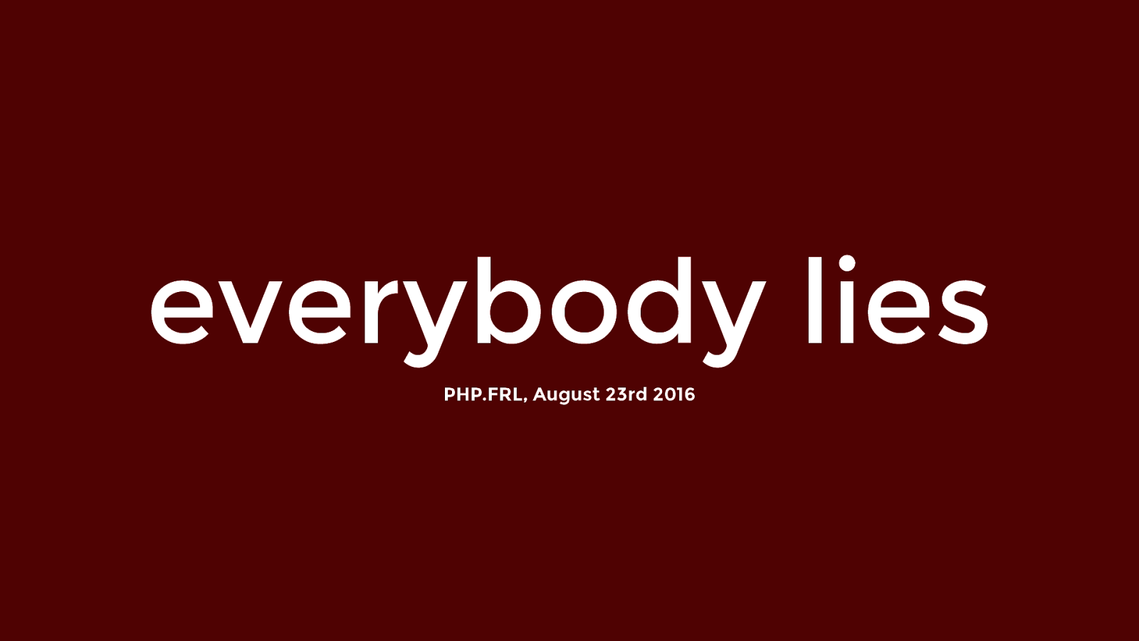 Everybody Lies – The story behind WhichBrowser
