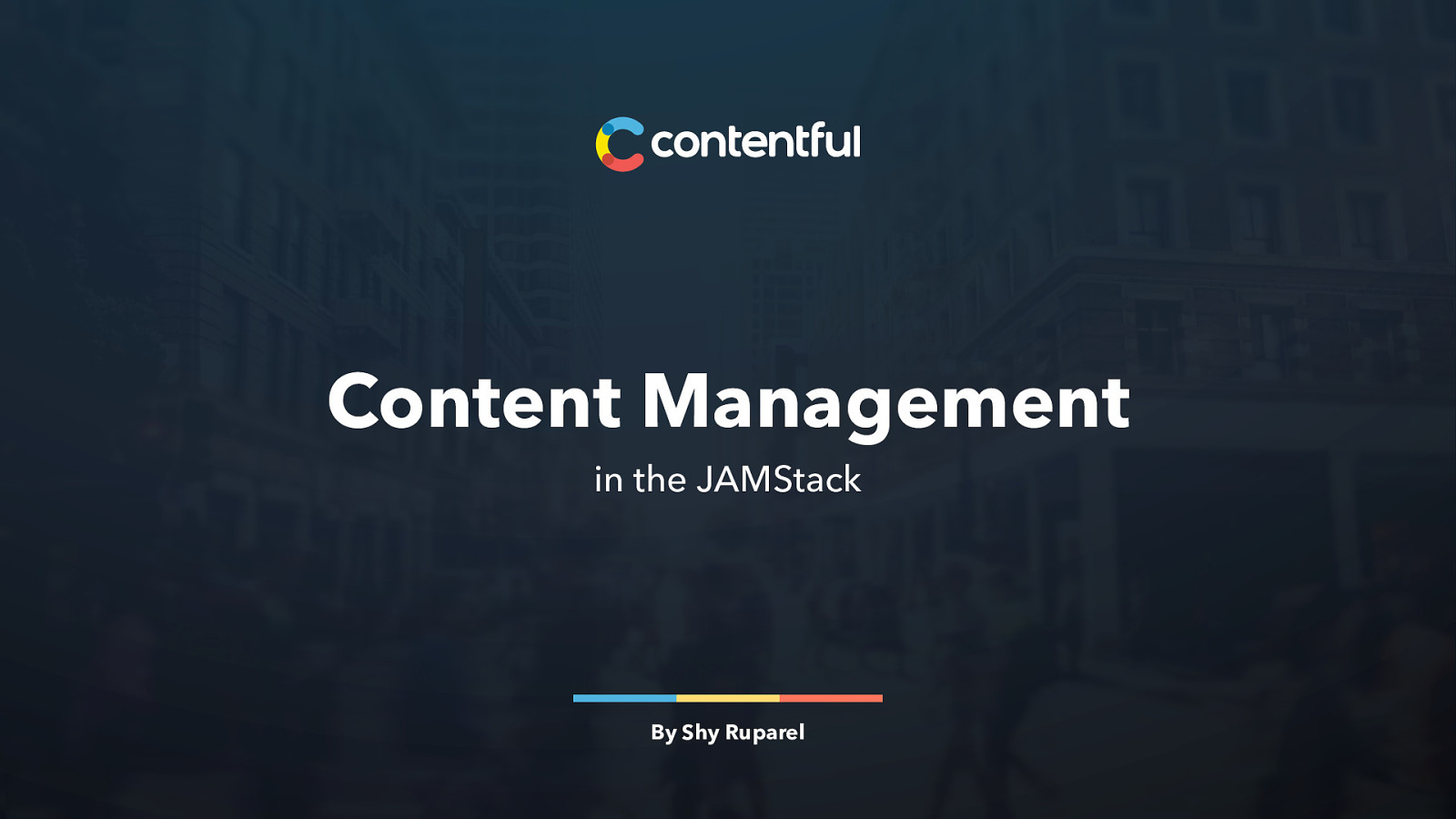 Content Management in the JAMStack