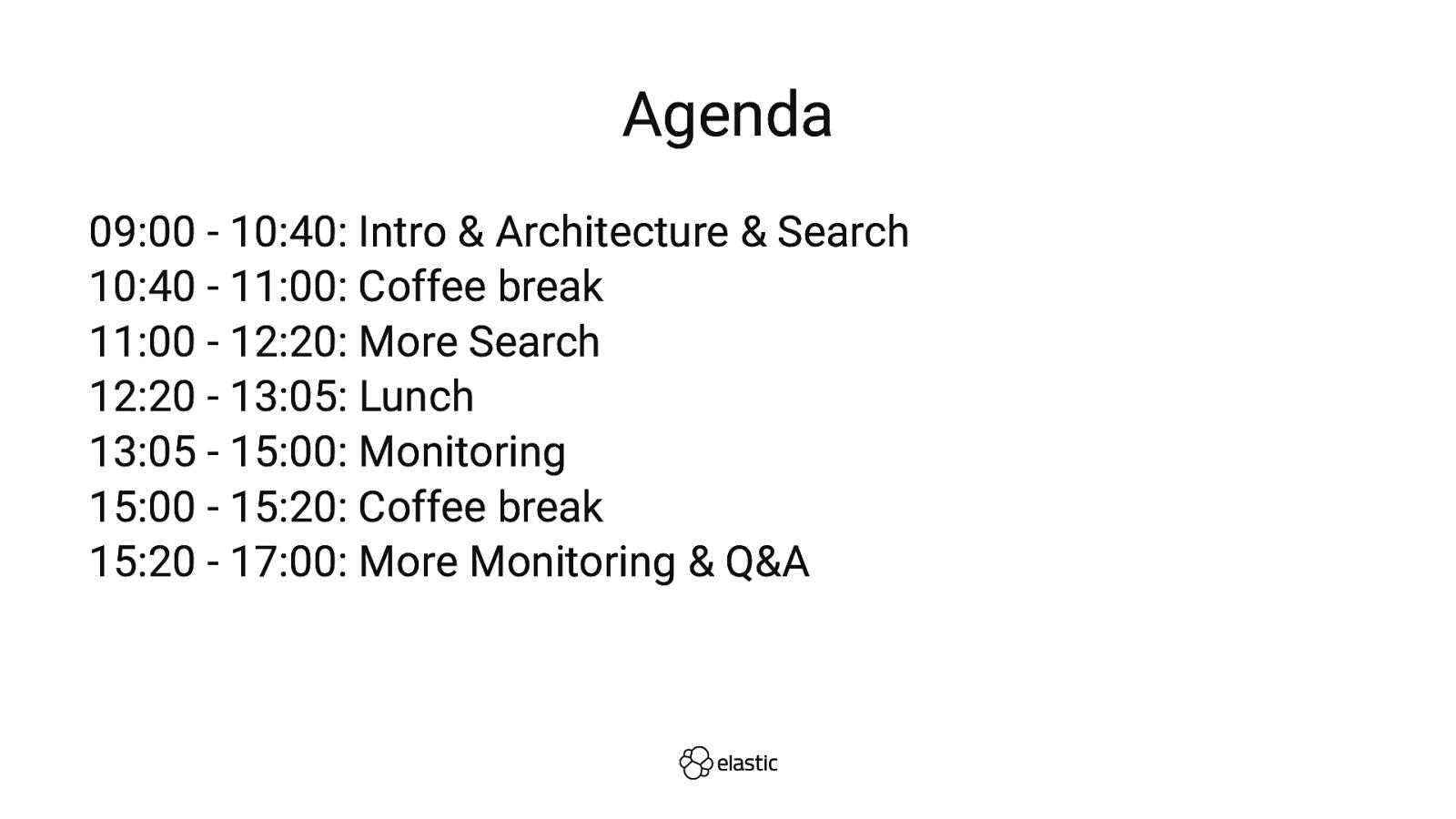 Elastic Stack Workshop: Search and Beyond (Workshop)