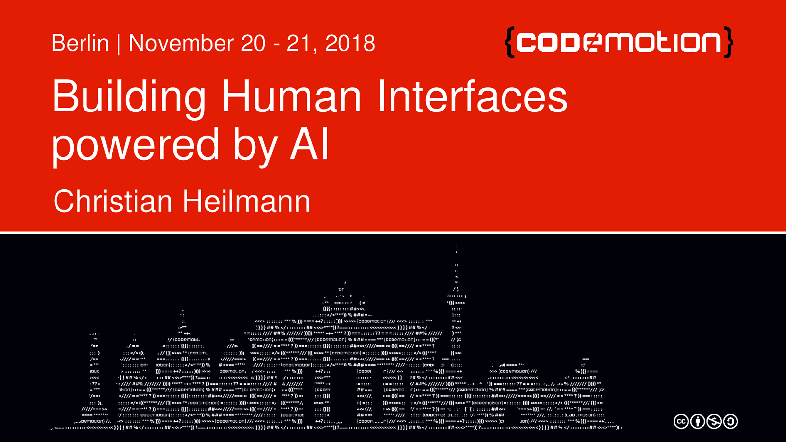 Building human interfaces powered by AI