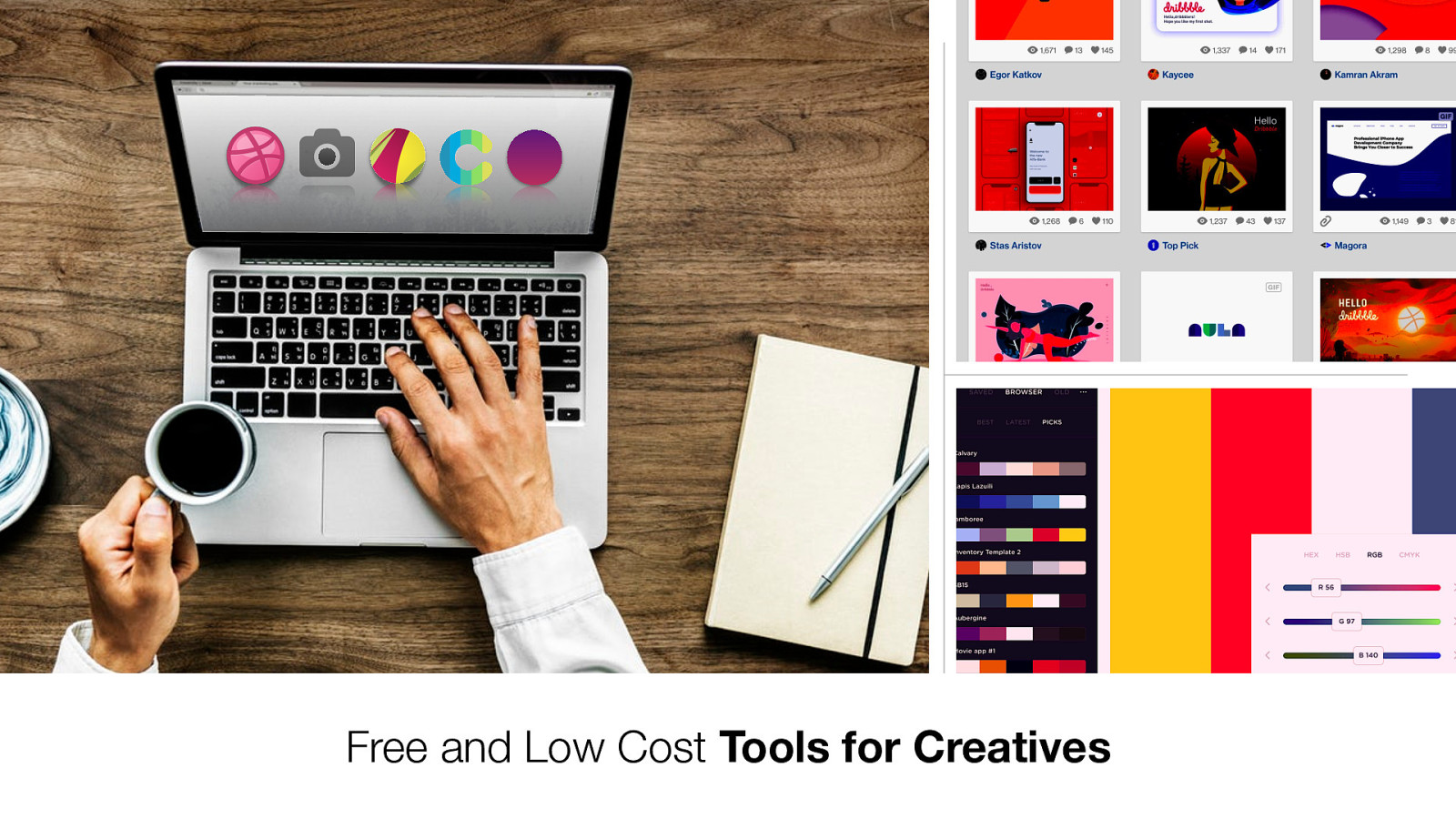 Free and Low Cost Tools for Creatives
