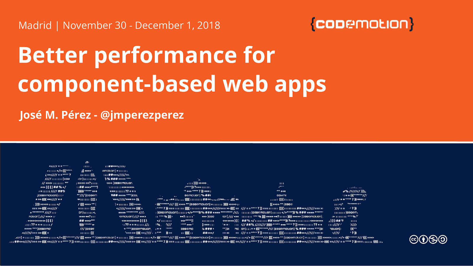 Better performance for component-based web apps