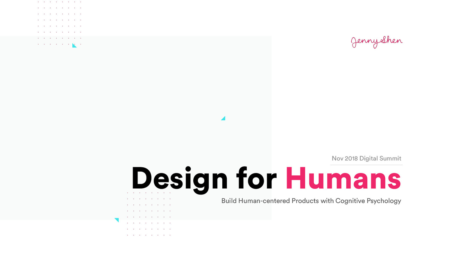 Design for Humans: Build Human-Centered Products with Cognitive Psychology