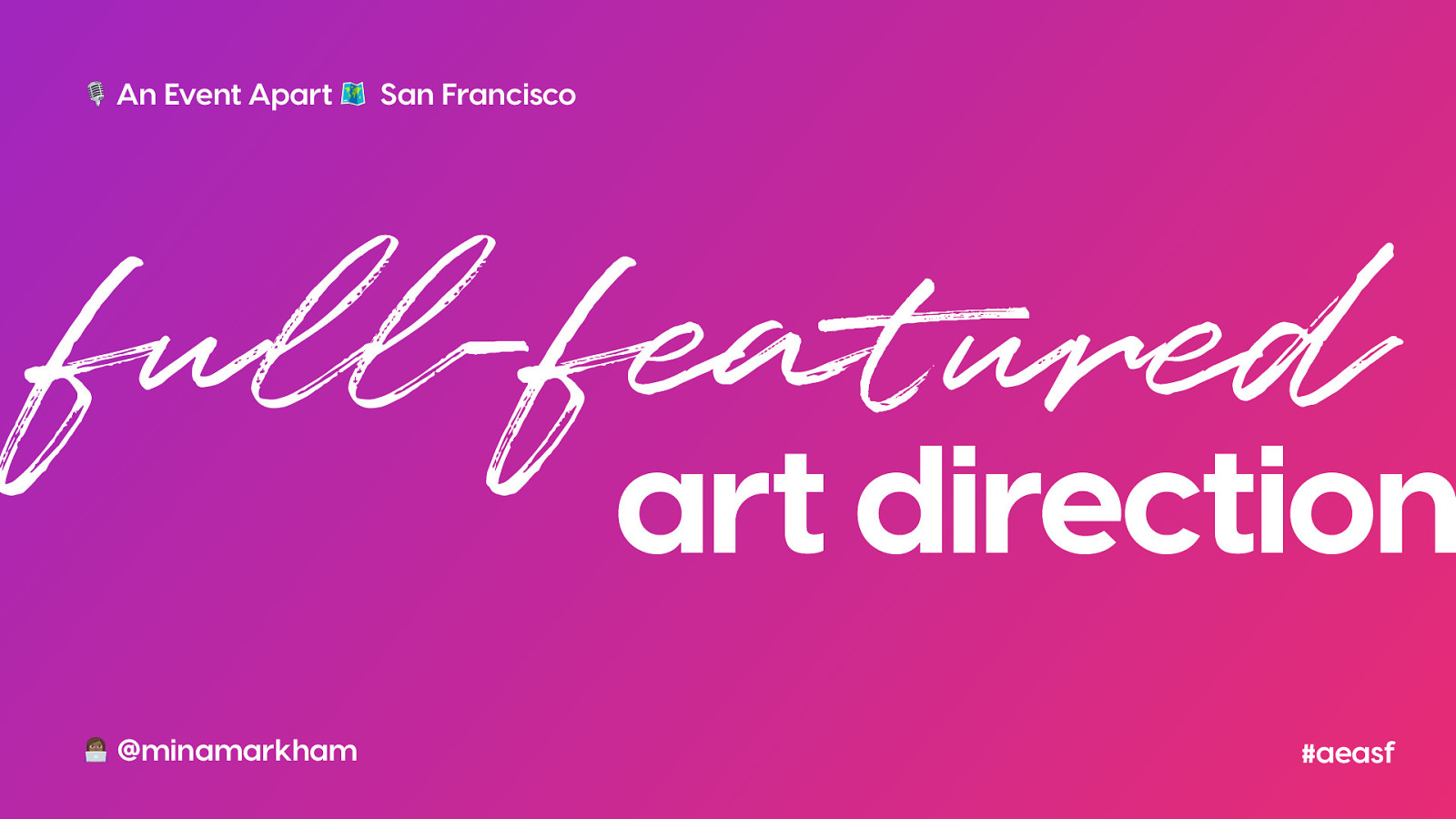 Full-Featured Art Direction for the Web
