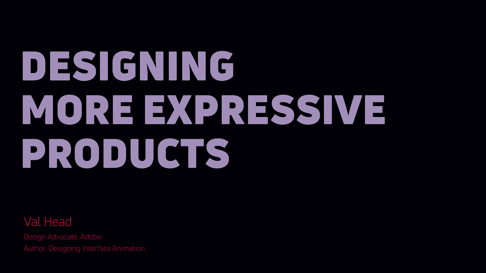 Designing More Expressive Products (with Motion and Sound)