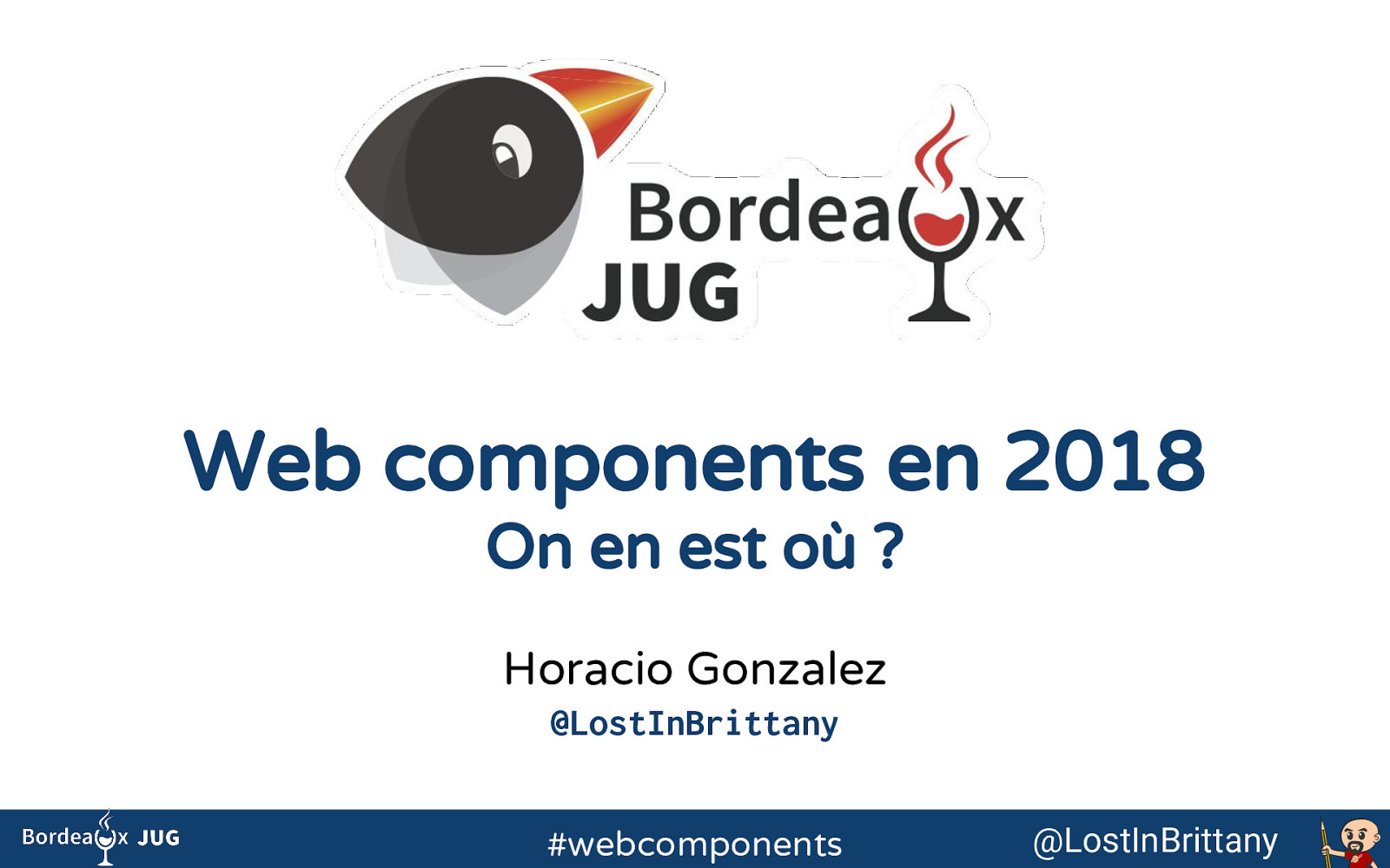 Web components en 2018, on en est où?