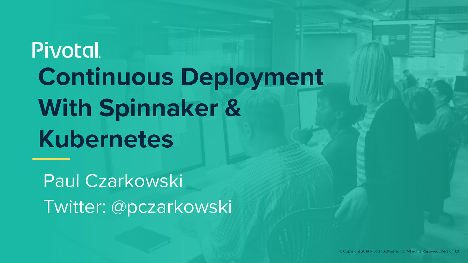 Using Spinnaker to Create a Development Workflow on Kubernetes