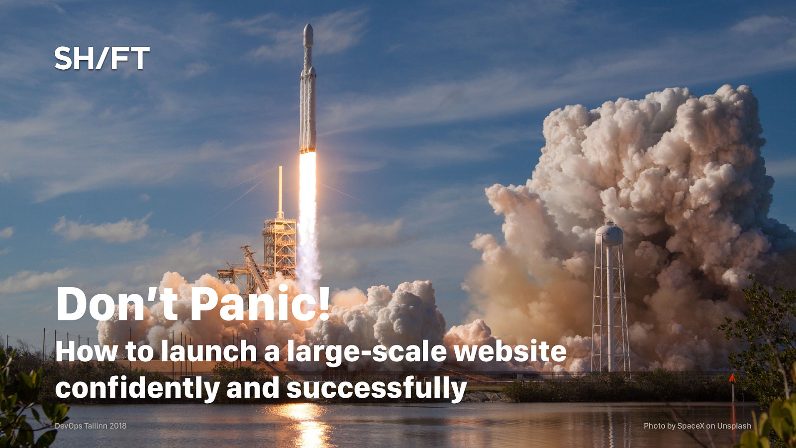Don't Panic – Launching Websites Confidently and Successfully