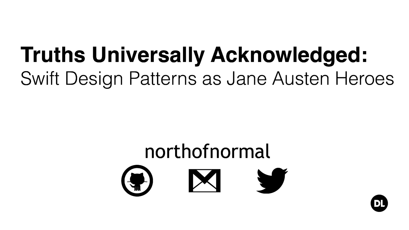 Truths Universally Acknowledged-Swift Design Patterns As Jane Austen Heroes