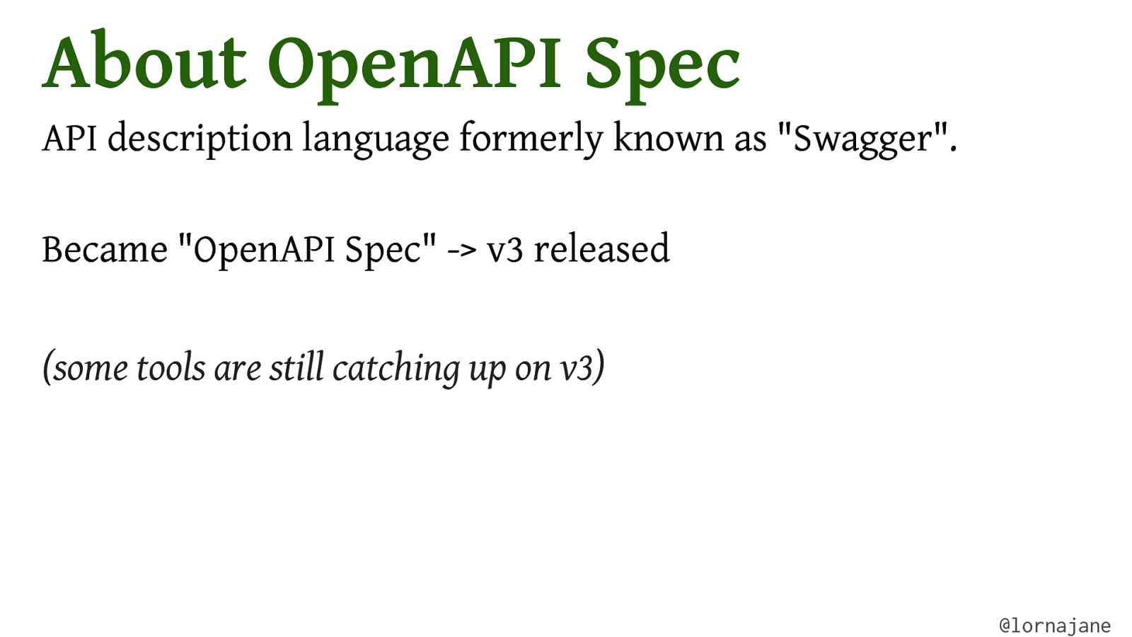 Introduction to OpenAPI Specification