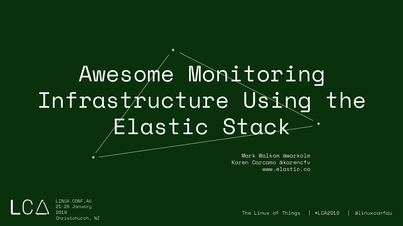 Awesome Monitoring Infrastructure Using the Elastic Stack