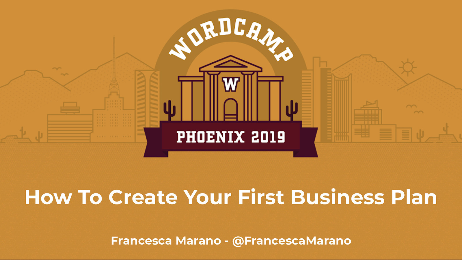 How to Create Your First Business Plan by Francesca Marano