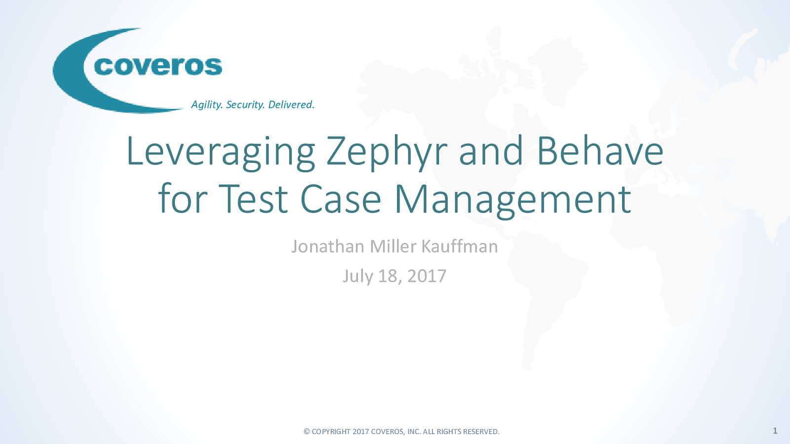 Leveraging Zephyr and Behave for Test Case Management