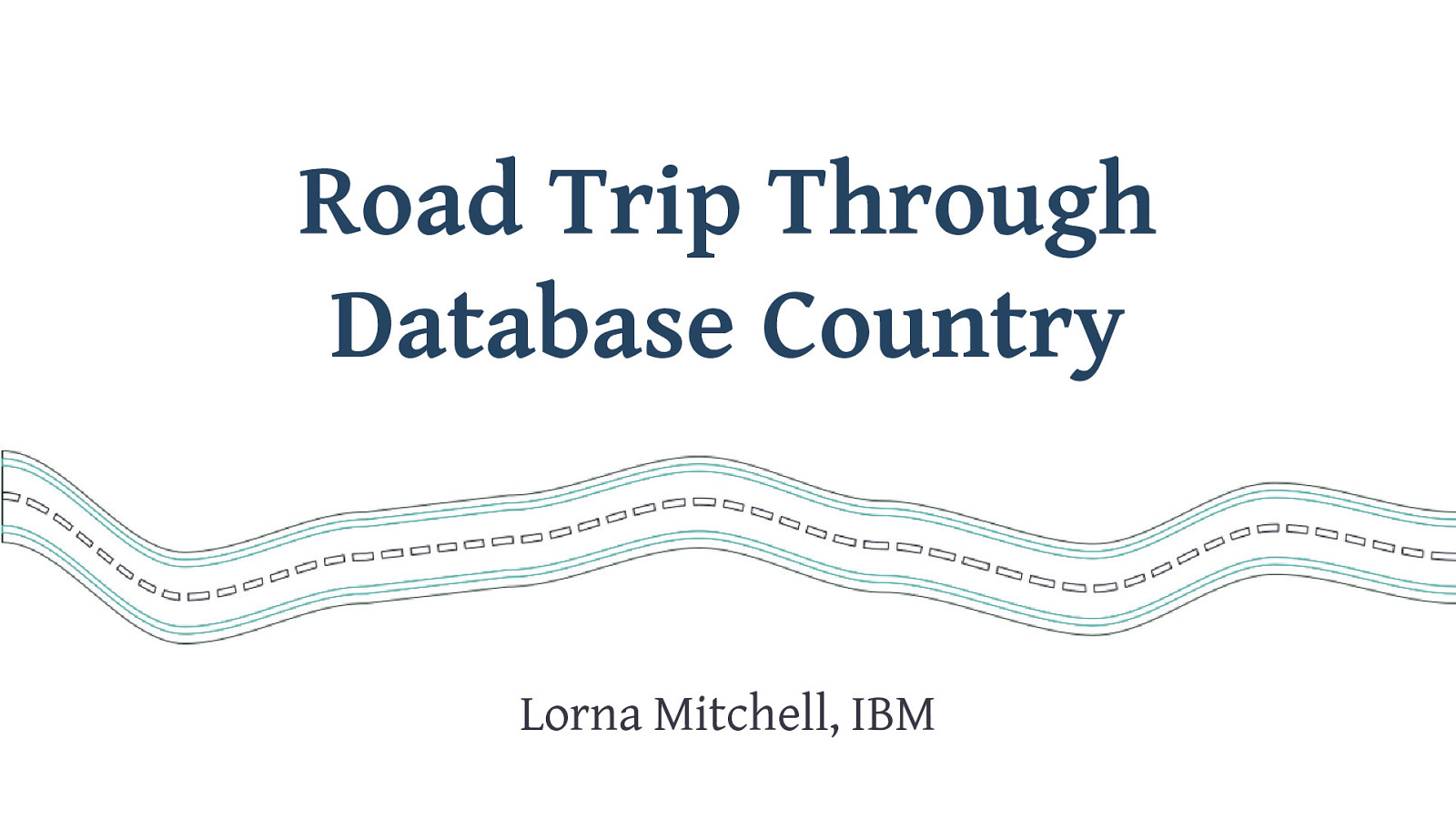 Road Trip Through Database Country