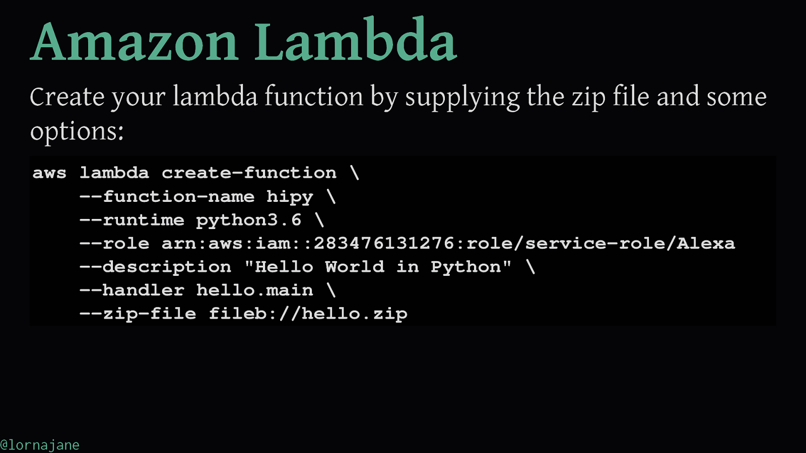 Fun With Serverless Python